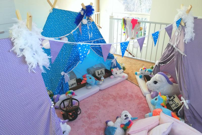 Ongekend Kinderfeestjes.nl - Slaapfeestje thuis organiseren? GP-93